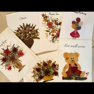 Variety of expressions cards